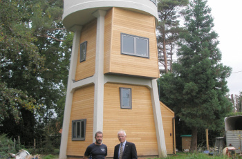 Actis Insulation water tower