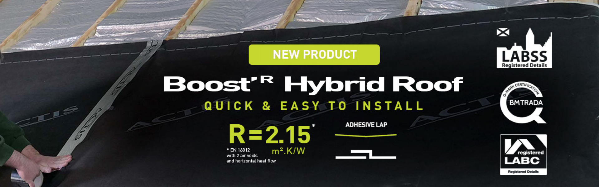 BOOSTR HYBRID ROOF